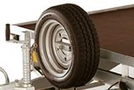 Spare Wheel & Carrier