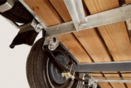 Beam Axle with Leaf Spring Suspension Livestock