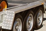 Aluminium Treadplates Mudgaurds