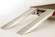 8' Aluminium Loading Skids