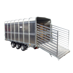 Ifor Williams DP120 14 Livestock Trailer
