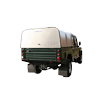 Ifor Williams Vehicle Canopy (with Solid Panel)