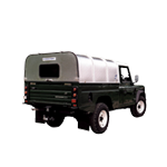 Ifor Williams Vehicle Canopy (with Panel and Window)
