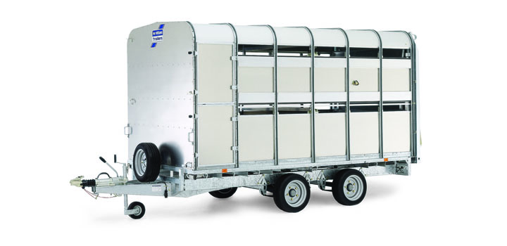 New Ifor Williams Dp120 12 U0026quot  Livestock Trailer For Sale