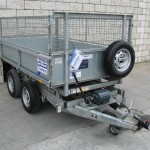 Used TT85 8' x 5' Tipper with mesh