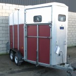 Used HB510 Horsebox Red