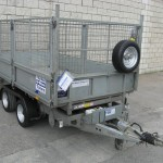 Used TT105 10' x 5'6'' Tipper with mesh